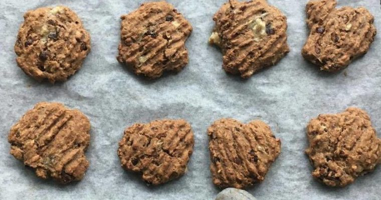 Ginger & Date Soft Biscuits