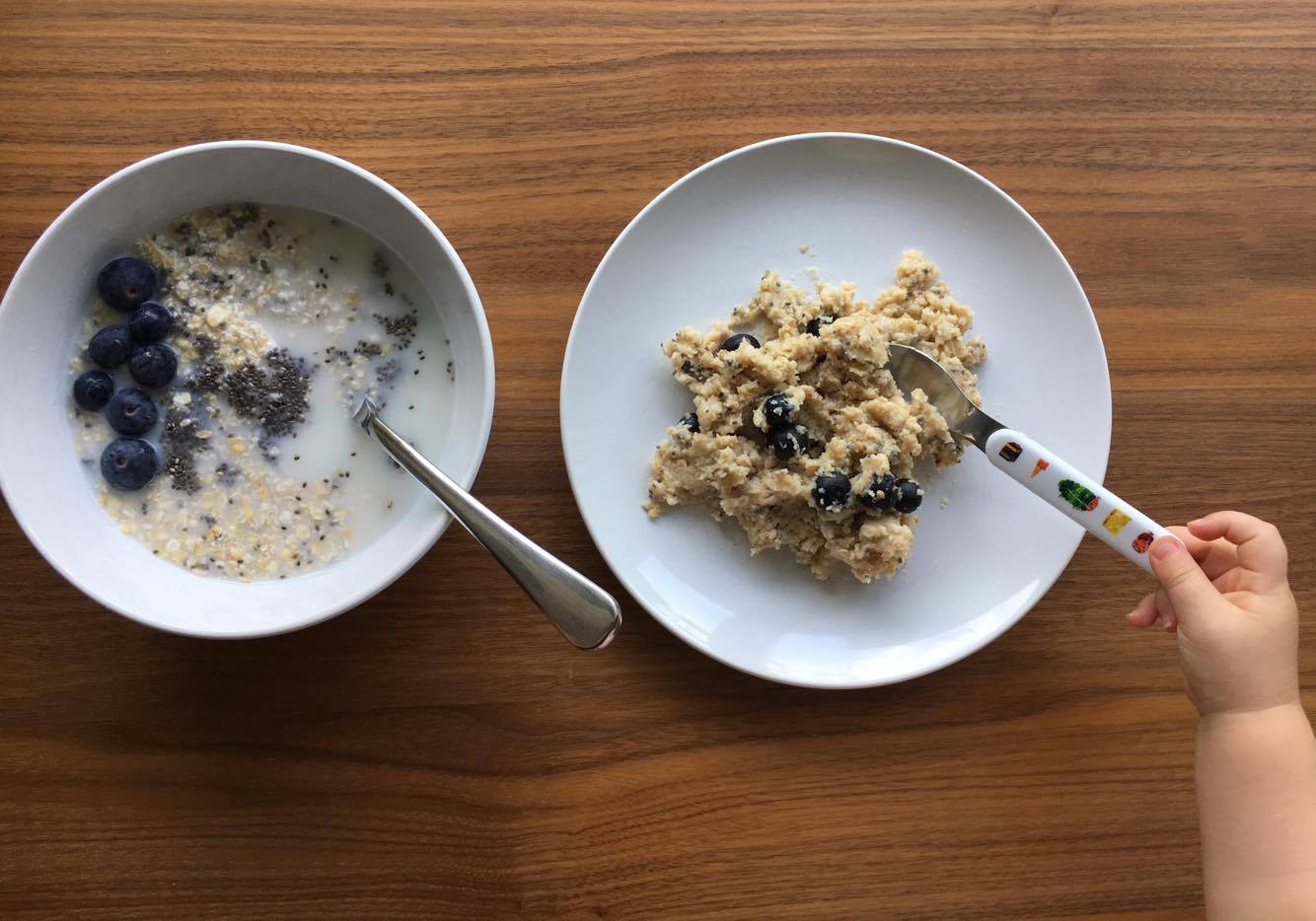 BLW Sticky Porridge