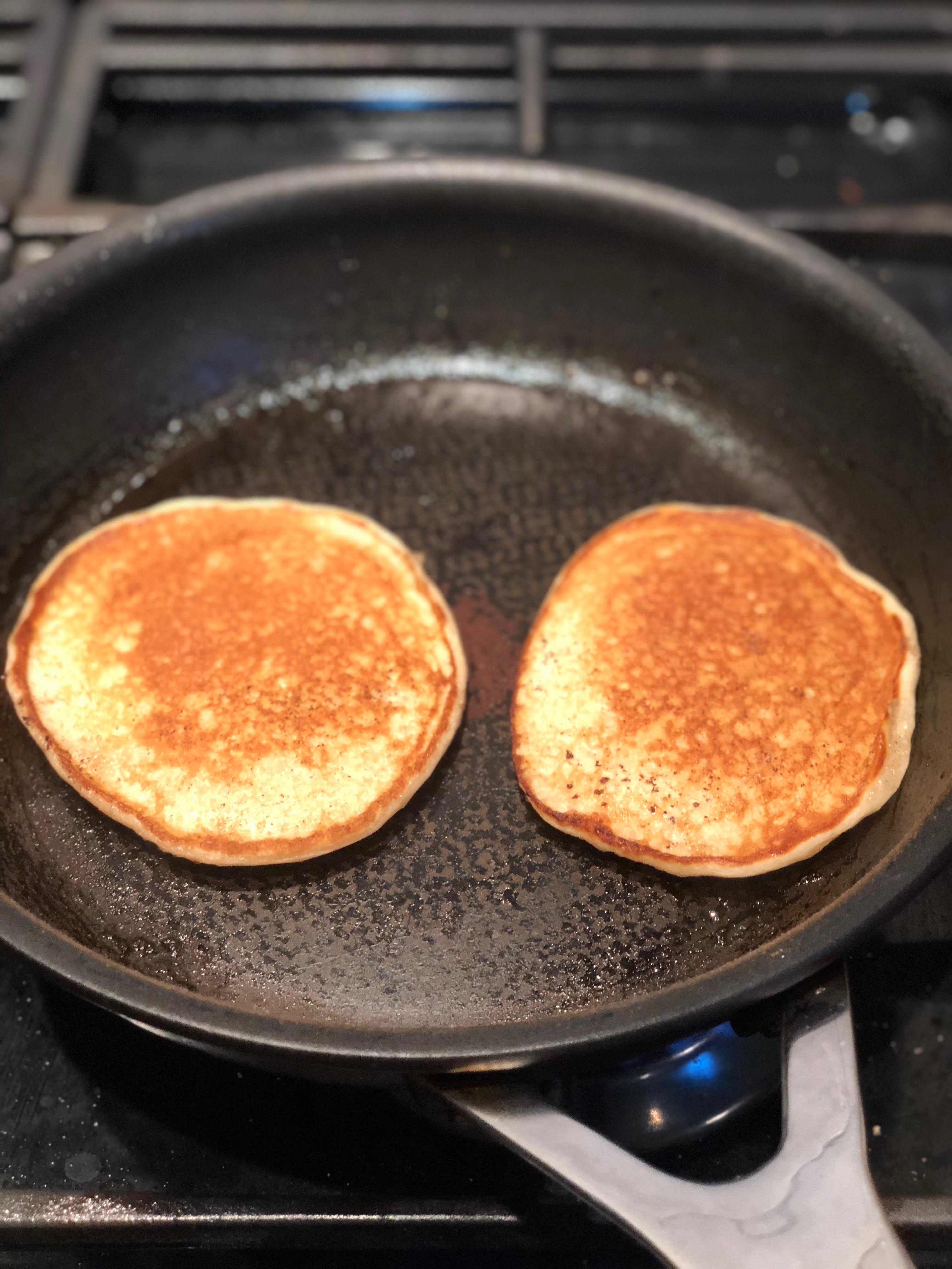 No Sugar Apple Pancakes