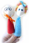 Самодельные куклы из ложек