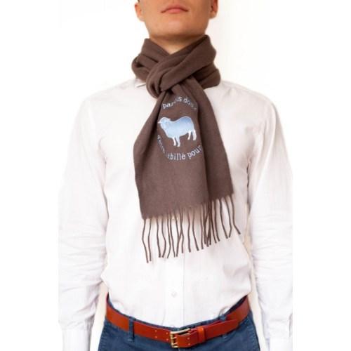 echarpe-laine-brodee-motif-coq