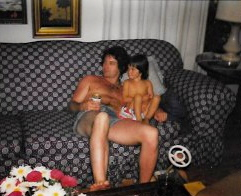 Watching Star Trek, drinking beer, being naked. 1979.