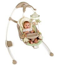 Bright Starts InGenuity Cradle & Sway Baby Swing {Review ...