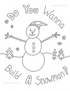 Epson XP-950 Printer Review and Snowman Coloring Page