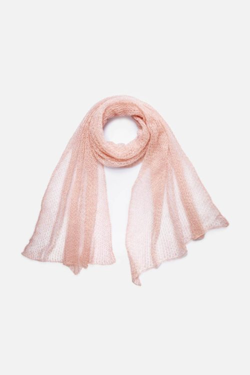 Babymoh Atmosphere shawl Blush