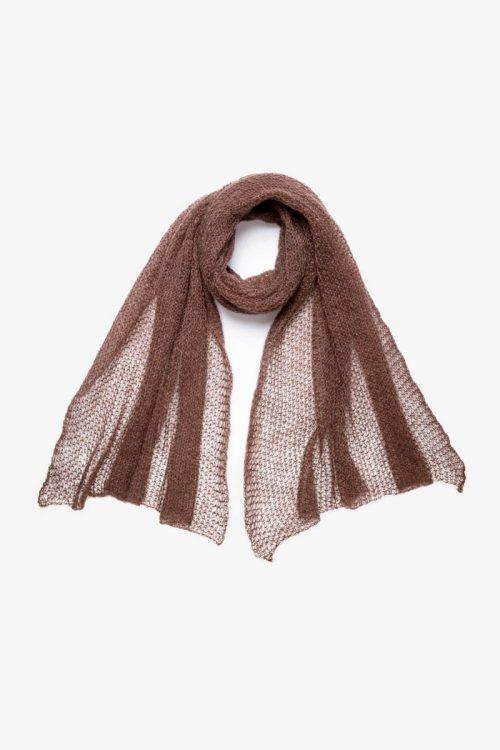 Babymoh Atmosphere shawl Cocoa