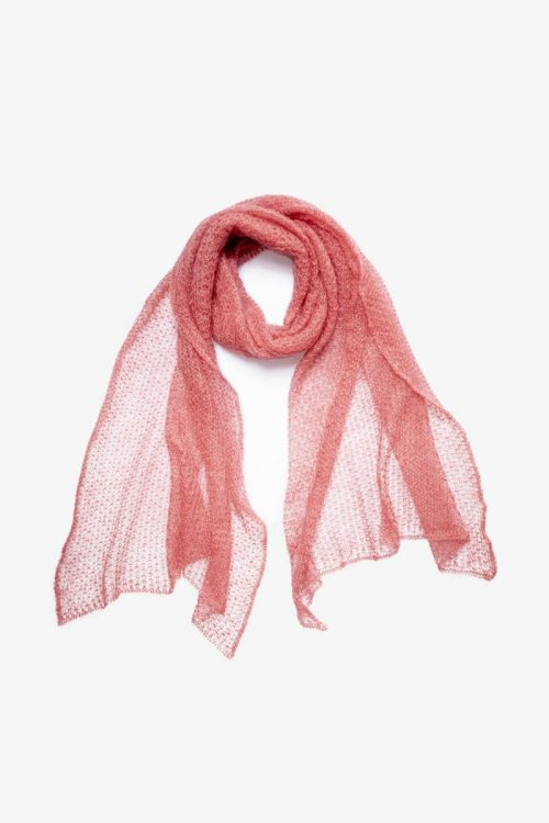 Babymoh Atmosphere shawl Coral