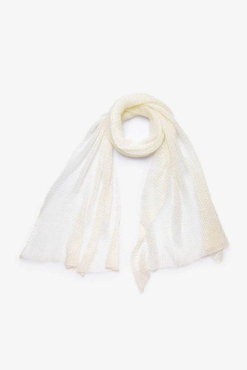 Babymoh Atmosphere shawl Ecru