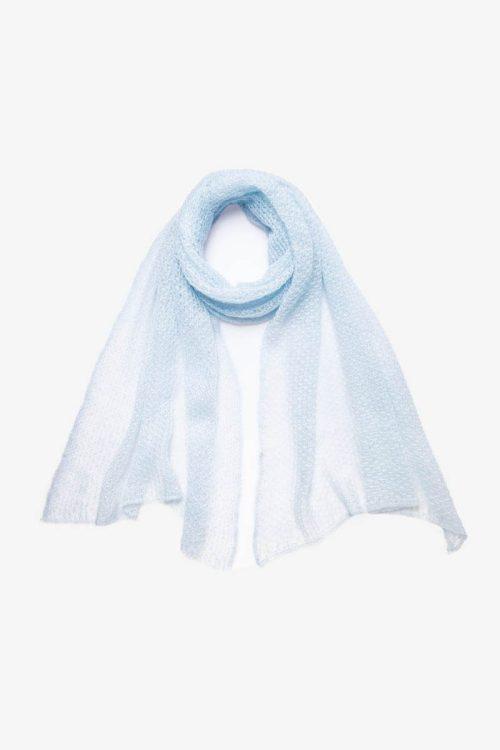 Babymoh Atmosphere shawl Washed Denim