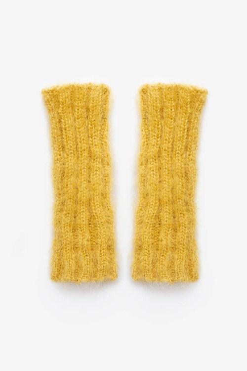 Babymoh Cozy Cuffs Mustard