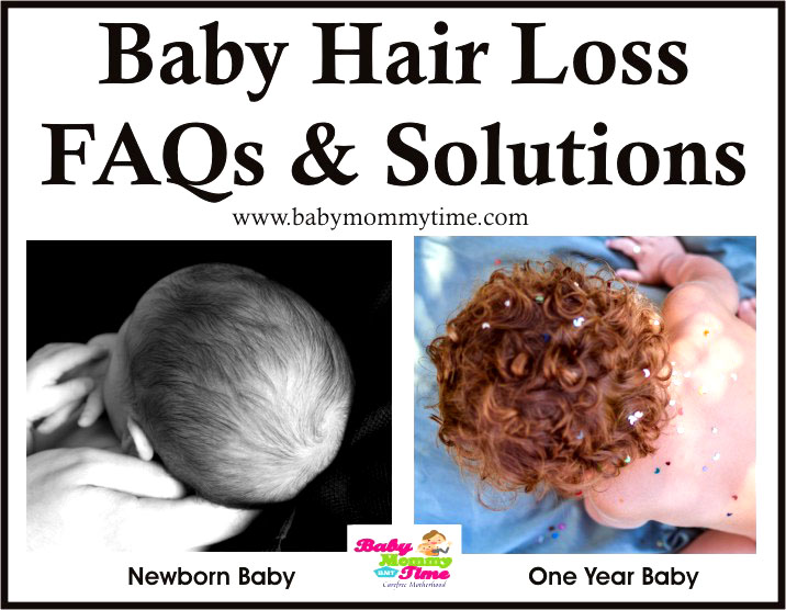 Baby Hair Loss - FAQs & Solutions