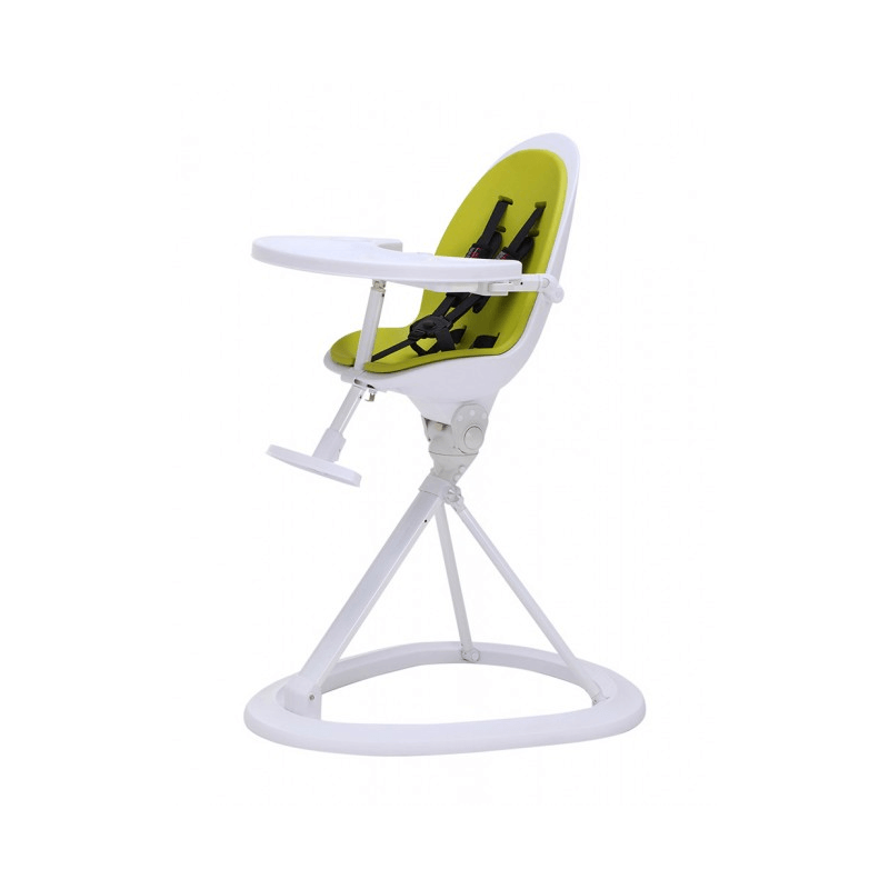green high chair covers dining table ickle bubba orb highchair on white frame 360 degree rotation