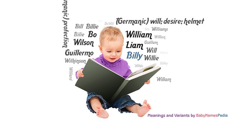 Billy  Meaning of Billy What does Billy mean