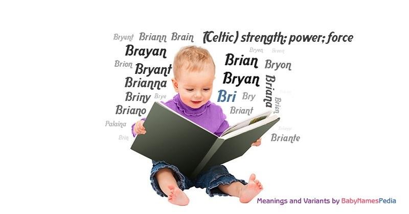 Bri - Meaning of Bri What does Bri mean?