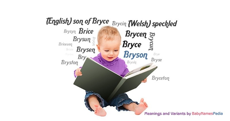 Bryson - Meaning of Bryson What does Bryson mean?