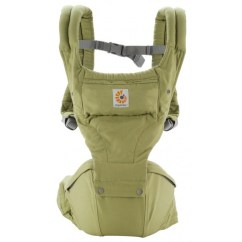 Baby Chair Carrier Brown Leather Club Recliner Ergobaby Hip Seat Green New Babyonline