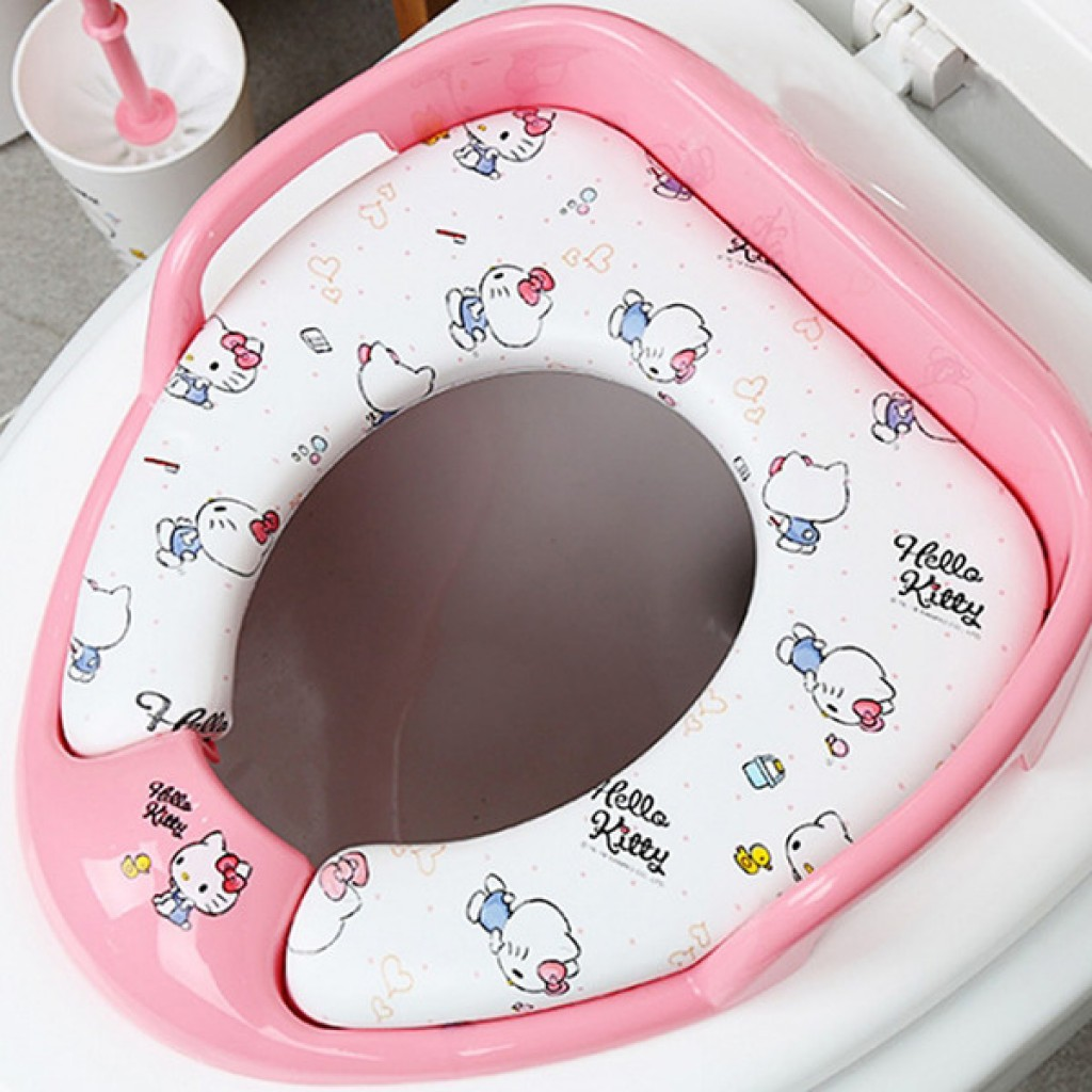 hello kitty potty chair farmhouse chairs for sale toilet training board soft seat babyonline