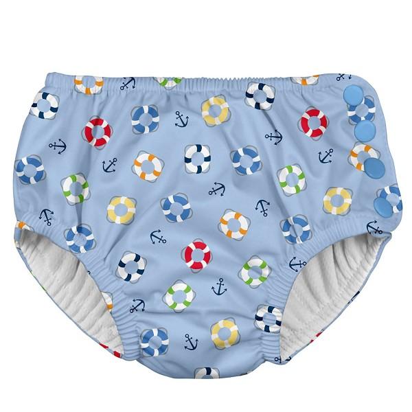 iPlay - Ultimate Swim Diaper - Light Blue Lifesaver - BabyOnline