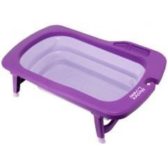Oxo Tot Sprout Chair Free Rocking Plans Mathos Loreley - Deluxe Folding Baby Bath Tub Purple Babyonline