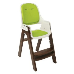 Wooden Baby High Chairs Uk West Elm Saddle Office Chair Oxo Tot Sprout Green Walnut Babyonline