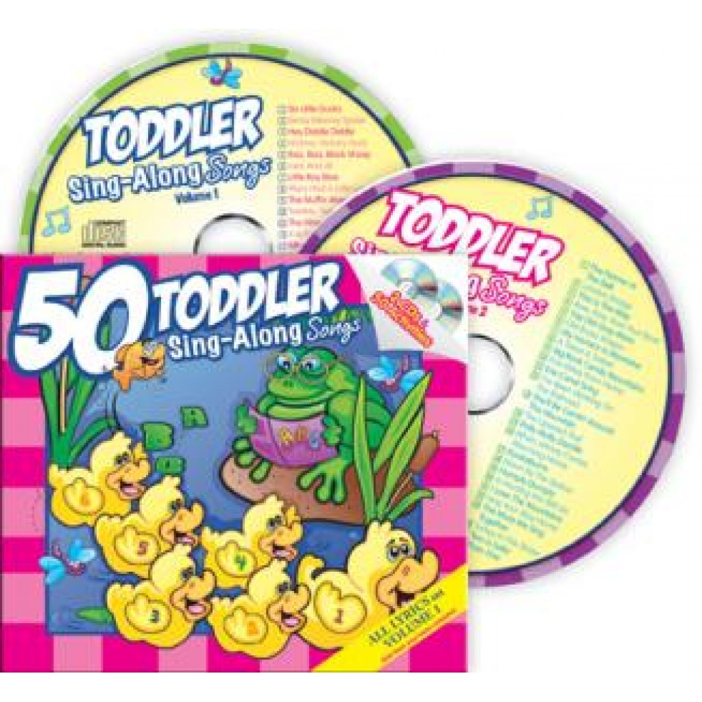 Twin Sisters  50 Toddler SingAlong Songs 2 CDs  50