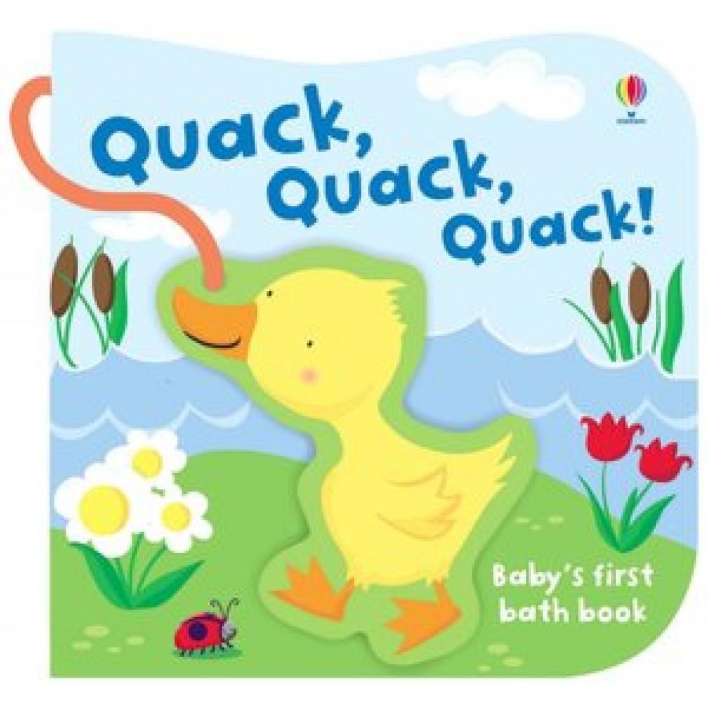 Usborne  Babys First Bath Book  Quack Quack Quack
