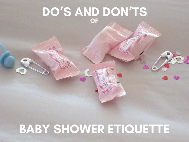 Dos And Donts of Baby Shower Etiquette  Babypreppingcom