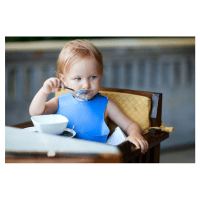 High chairs: What your baby learns by playing with food