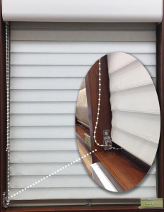 corded window blinds