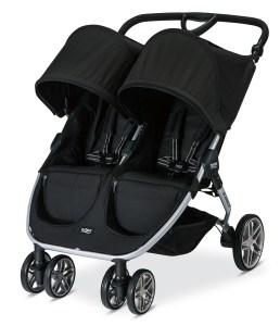 B Agile double stroller