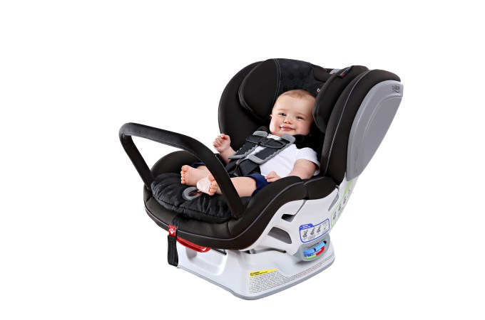 car seat with anti rebound bar