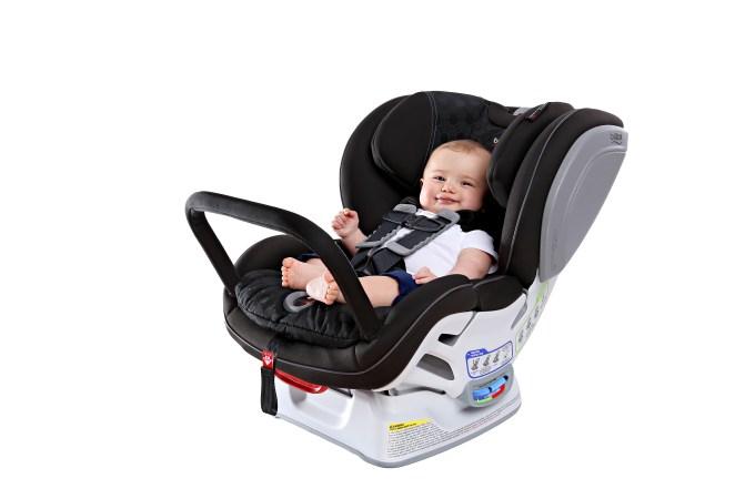 car seat with anti rebound bar