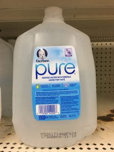 Gerber Pure Infant water