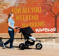 BOB Rambler jogging stroller is new for 2018