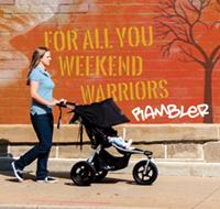BOB Rambler jogging stroller is new for 2018