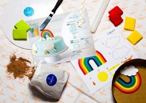 Cakest Rainbox cake kit