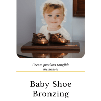 Bronzing baby shoes is back!