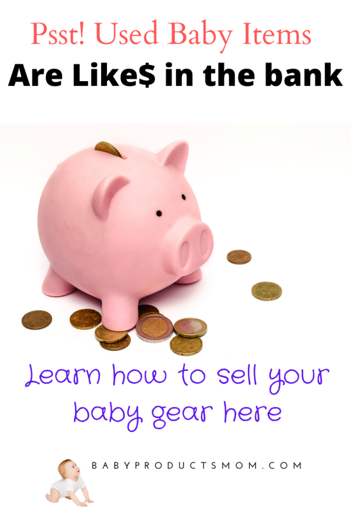 piggy bank--used baby items