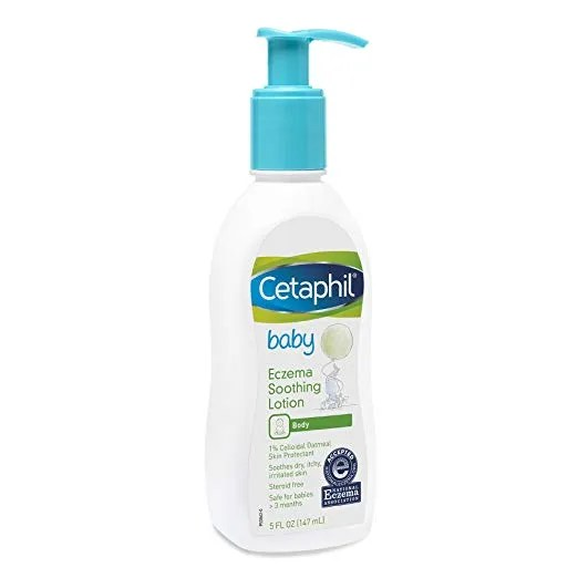 Cetaphil Baby Eczema Soothing Lotion Colloidal Oatmeal ...