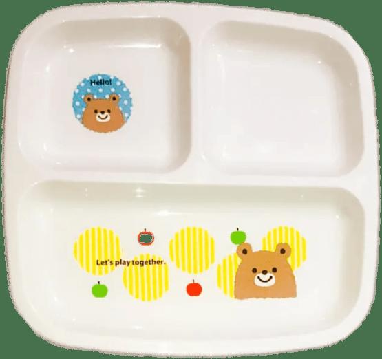 Sectional Plates Tray Bear