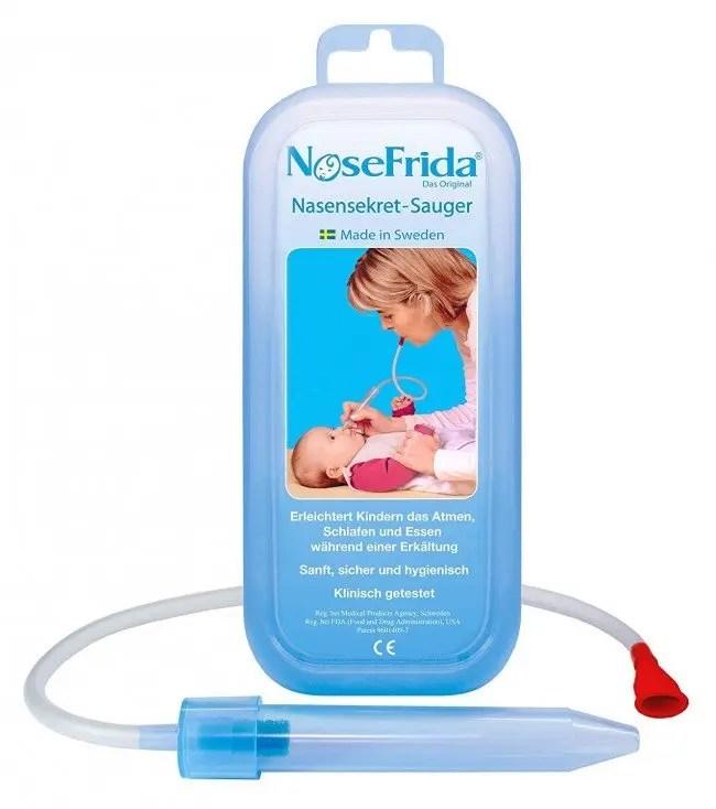 NoseFrida The Snotsucker Nasal Aspirator