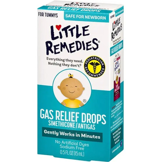 Little Remedies Gas Relief Drops 0.5 oz. (15ml)