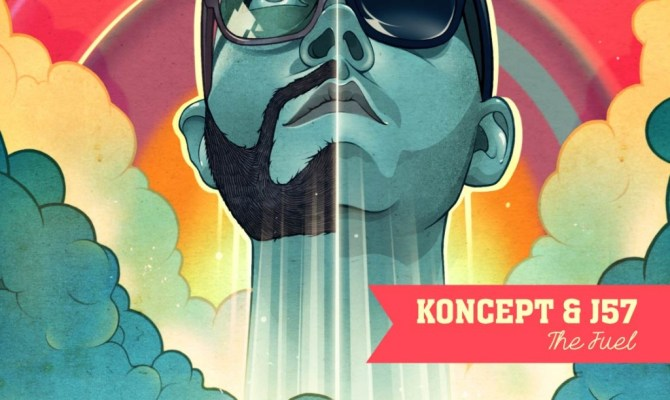 "‪‎2DopeBoyz‬ shares KONCEPT & J57's new single ""Porcelain"" ft. Hollis"