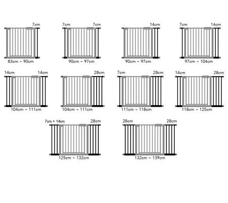 Baby ACE Gate – Safety Metal Gate – TG256   HGMIL