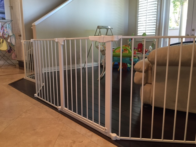 Large Custom Baby Safety Play Room Gate  Baby Safe Homes
