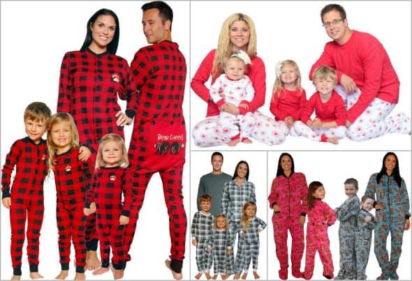 Family Christmas Pajamas Cute Matching Pjs Funny Sleepwear