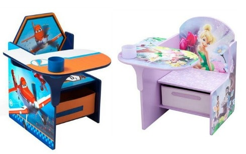 Character Toddler Desk  Chair with Storage Bin only 35