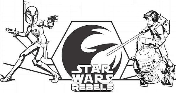 Free Star Wars Rebels Coloring Pages and Activity Sheets