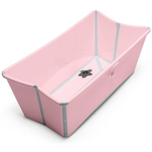 Stokke Flexi Bath Baby Foldable Bathtub Pink