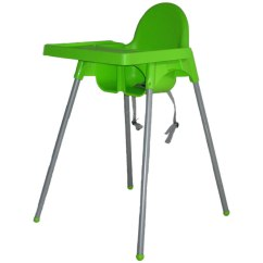 Green High Chair Lazboy Office Tobby Baby Service Bali Equipment Rental Hire Family Holiday Travelling